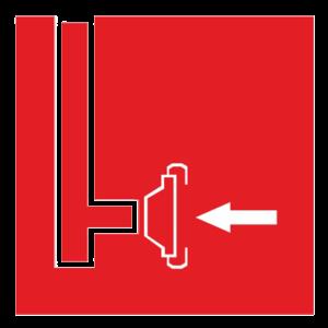 Пожарный сухотрубный стояк