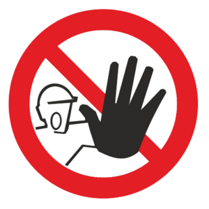 Знак - Доступ посторонним запрещен