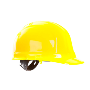 Каска защитная желтая